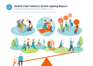 Report cover for Health Club Industry Active Ageing Report from Ray Algar